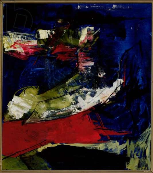Entombment, 1972 (oil on canvas)