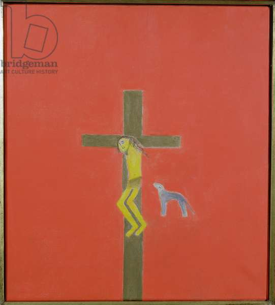 Crucifixion, 1993 (oil on canvas)