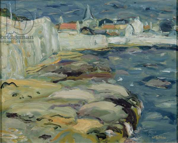 Anstruther, c.1946 (oil on canvas)