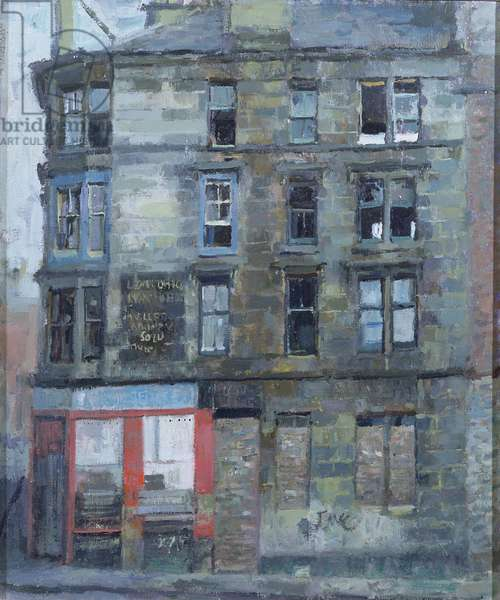 Glasgow Tenement (oil on canvas)