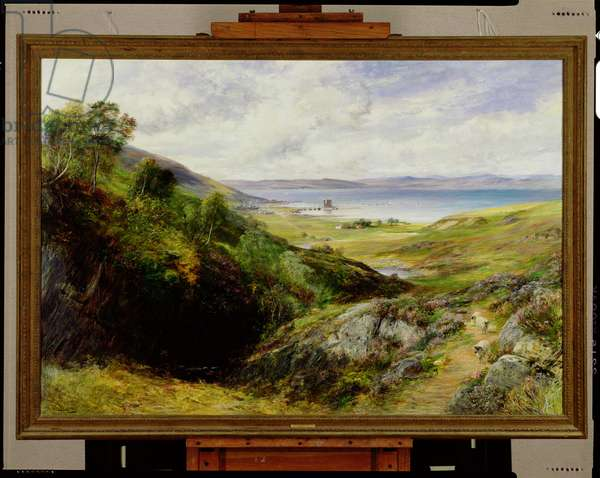 Loch Ranza, Arran, 1891 (oil on canvas)