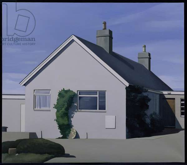 Mr and Mrs Makesack-Leitch's House by Elgin, Moray (oil on canvas)