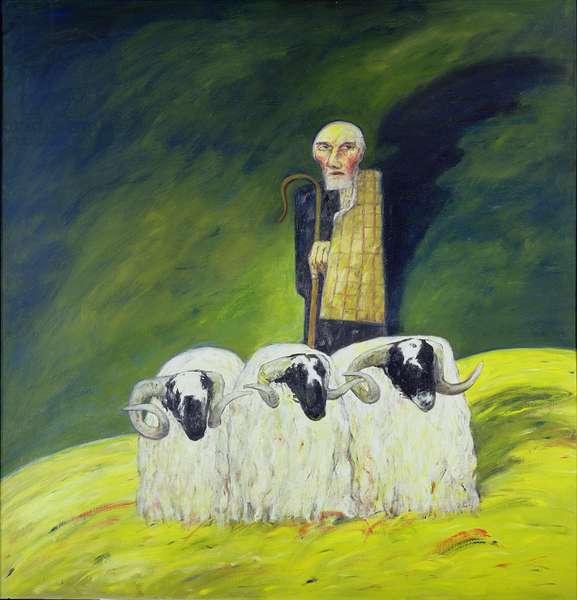 The Ettrick Shepherd, 1967 (oil on canvas)