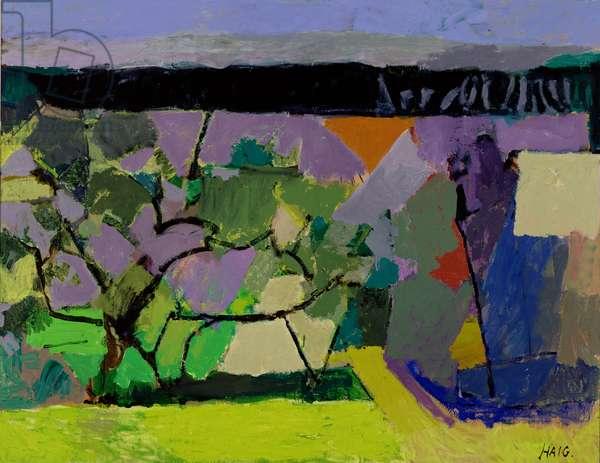 Pear Tree, 1989 (oil on canvas)