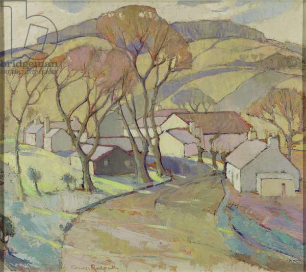 Frosty Morning, Trow Mill, 1936 (oil on plywood)