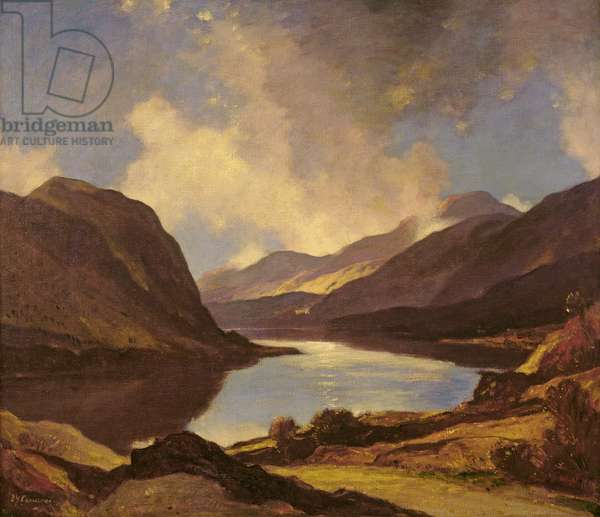 Loch Lubnaig, Perthshire, c.1933 (oil on canvas)