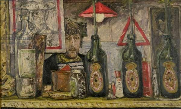 Self Portrait, 1963 (oil on canvas)