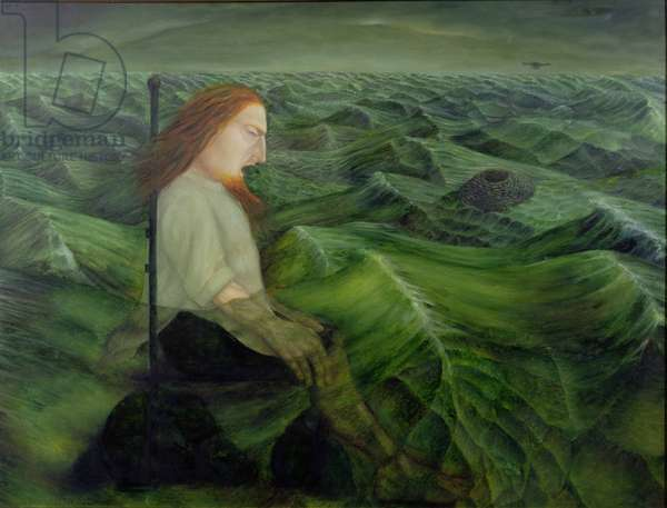 Canute, 1997 (oil on canvas)