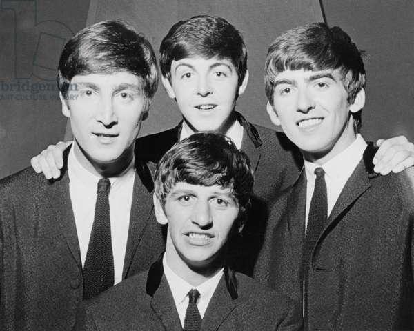 BEATLES in  1962/3 - British pop group