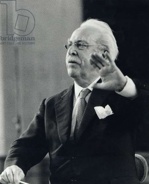 Sir Arthur  Bliss conducting  c1968