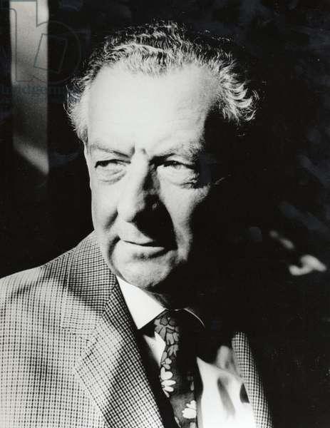 Benjamin Britten c1969, portrait