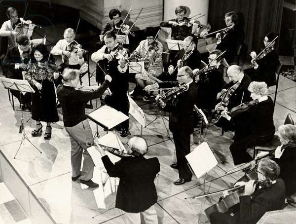 1973 European String Teachers Association concert with Yehudi Menuhin conducting at St
