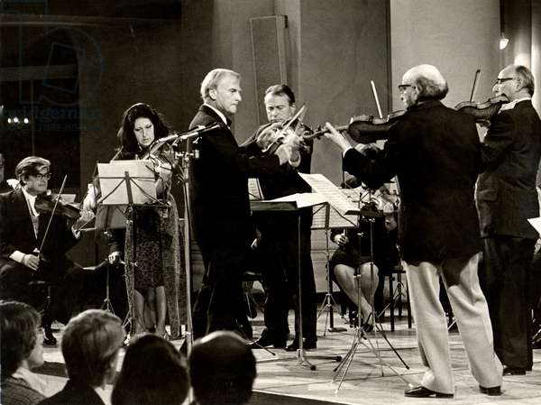 European String Teachers Association concert, 1973