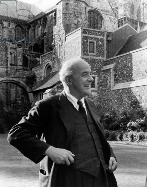 John Betjeman - portrait - British poet, writer 28 August 1906 - 19 May 1984