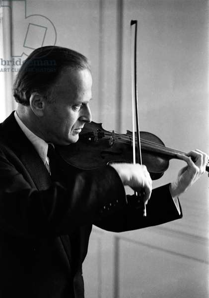Yehudi Menuhin (22 April 1916 - 12 March 1999), American born violinist