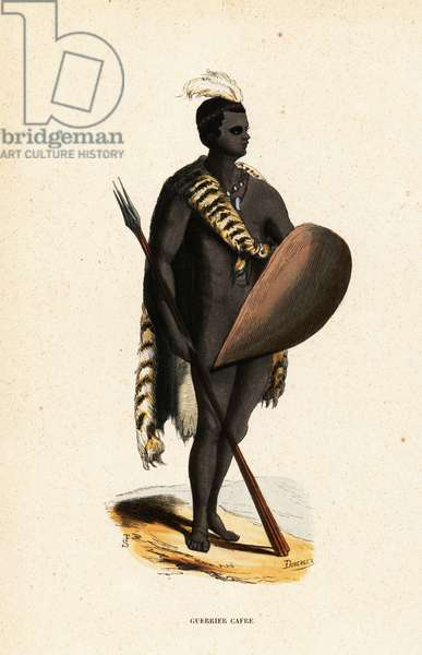 San warrior from South Africa