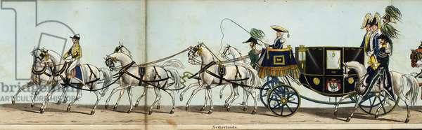 Carriage of Baron de Capellen, Ambassador Extraordinary to the King of the Netherlands, in Queen Victoria's coronation parade
