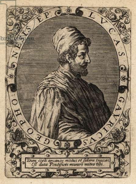 Luca Gaurico, 1475-1558, Italian astrologer.