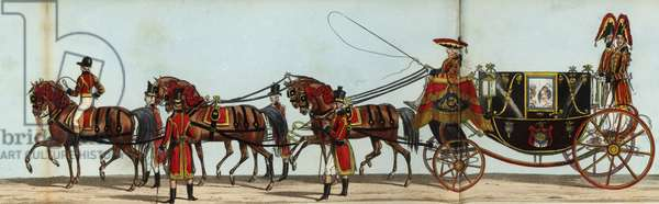 Eighth Carriage of the Royal Household in Queen Victoria's coronation parade