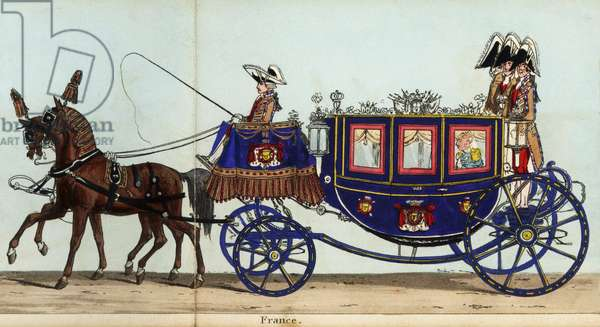 Carriage of Count Sebastiani, French Ambassador, in Queen Victoria's coronation parade