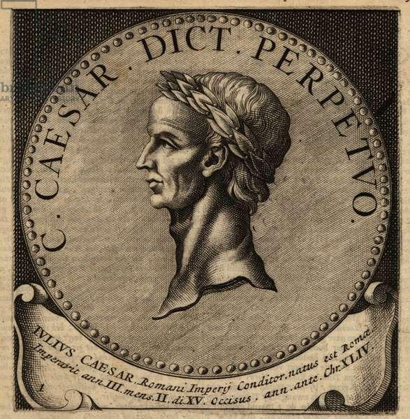 Julius Caesar, Caius Julius Caesar, Roman Dictator.