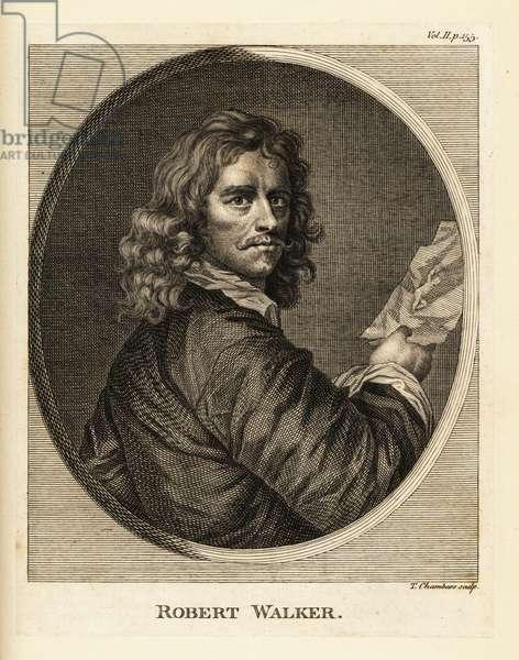 Portrait of Robert Walker, English portrait painter, 1599-1658