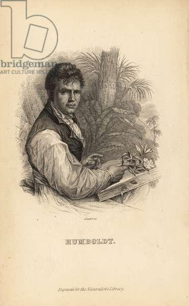 Alexander von Humboldt, German explorer, naturalist and botanist, 1769-1859
