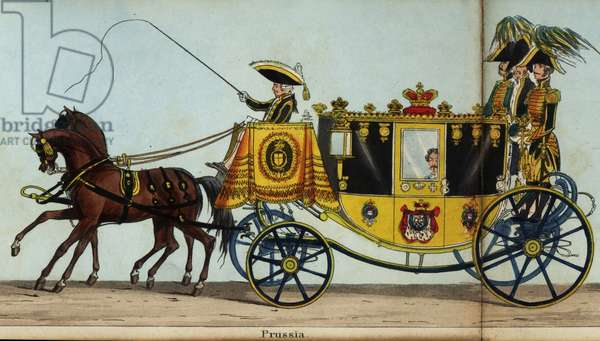 Carriage of Wilhelm Malte I, Prince of Putbus, Ambassador Extraordinary to the King of Prussia, Frederick William III, in Queen Victoria's coronation parade