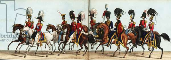 Military Staff and Aides-de-Camp in Queen Victoria's coronation parade