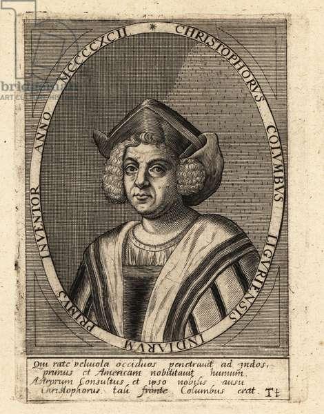 Christopher Columbus, Italian explorer and colonizer, 1451-1506.