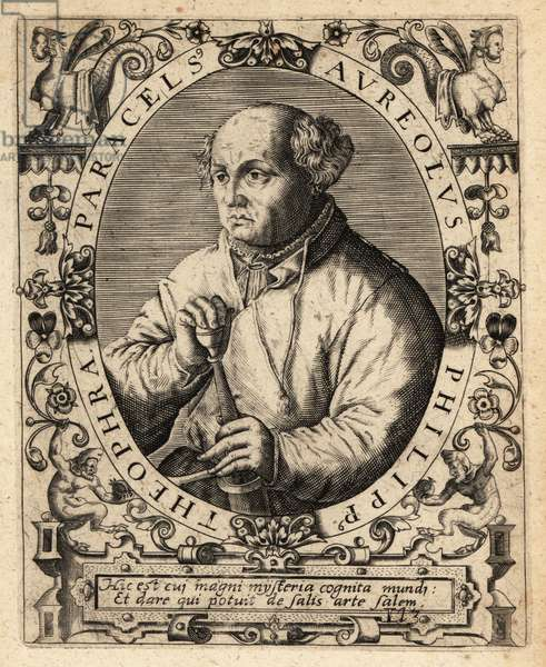 Paracelsus, Swiss physician, alchemist and astrologer, 1494-1541