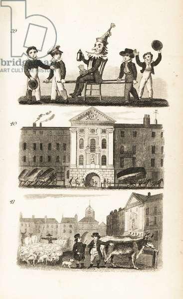 Guy Fawkes in Effigy, Bartholomew's Hospital and Smithfield Market