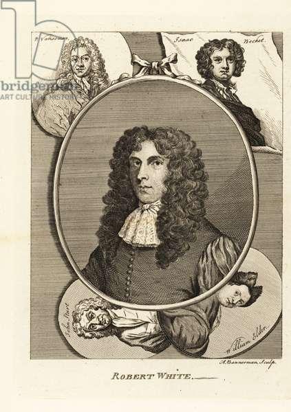 Portrait of Robert White, English draughtsman, engraver