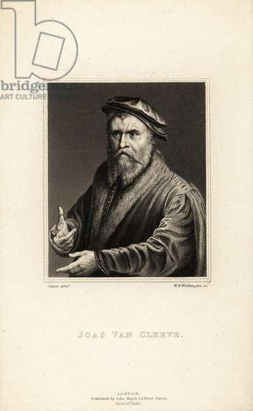 Portrait of Joos van Cleve, painter active in Antwerp, circa 1485-1540