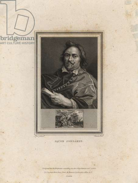 Self portrait of Jacob Jordaens