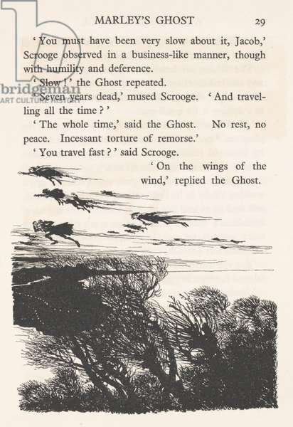 'The air was filled with phantoms', 1915 (litho)