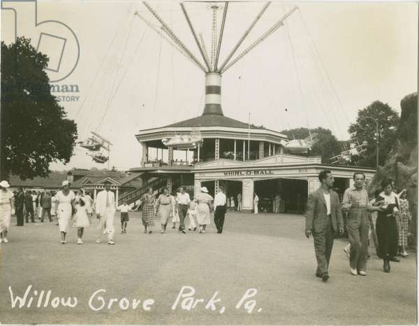 Willow Grove Park, Philadelphia, c.1936 (b/w photo)