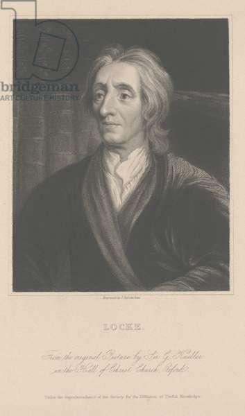 John Locke, engraved by J. Posselwhite (engraving)