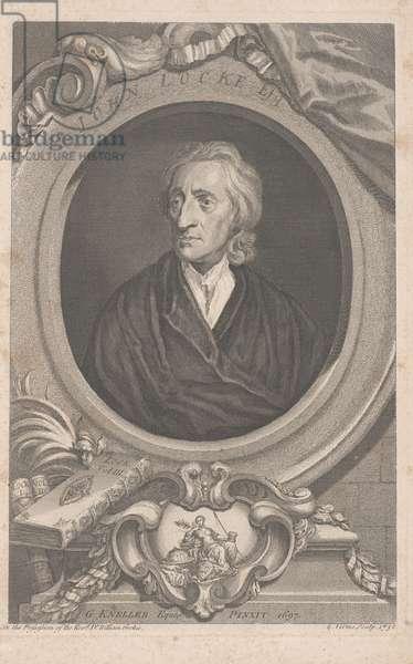 John Locke, 1738 (engraving)