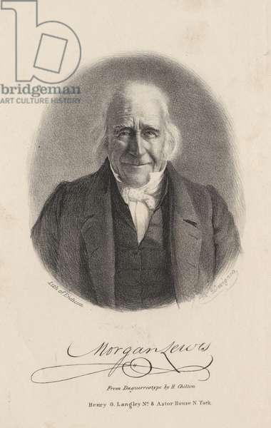 Morgan Lewis, litho by Endicott, 1844 (litho)