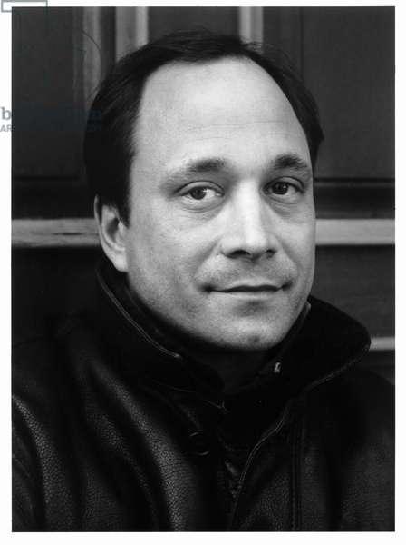 Ross Bleckner, New York City, 1986 (b/w photo)