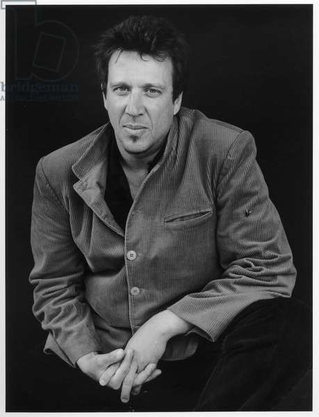 Richard Hell, New York City, 2000 (b/w photo)
