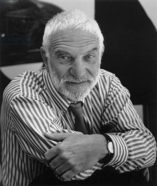 Anthony Caro, New York City, 1991 (b/w photo)