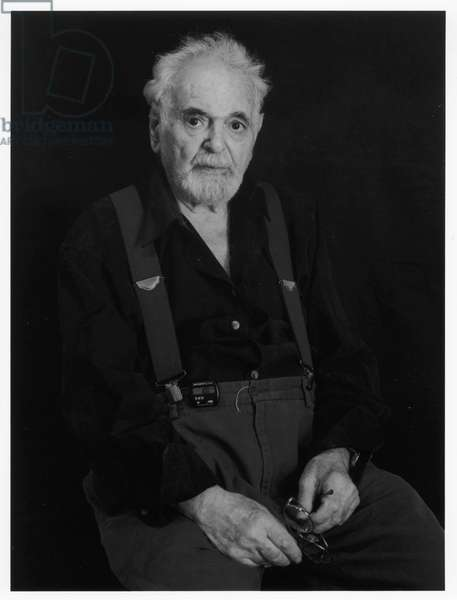John Coplans, New York City, 2000 (b/w photo)