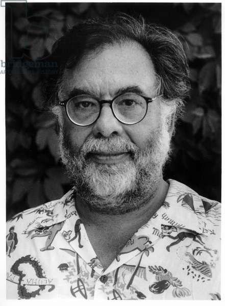 Francis Ford Coppola, Napa Valley, California, 1998 (b/w photo)