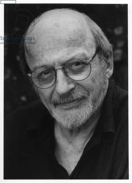 E. L. Doctorow, Sag Harbor, New York, 2000 (b/w photo)