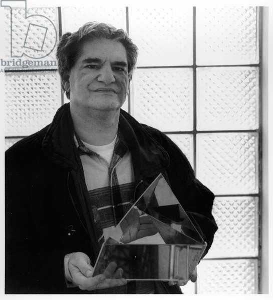 Dan Graham, New York City, 1992 (b/w photo)