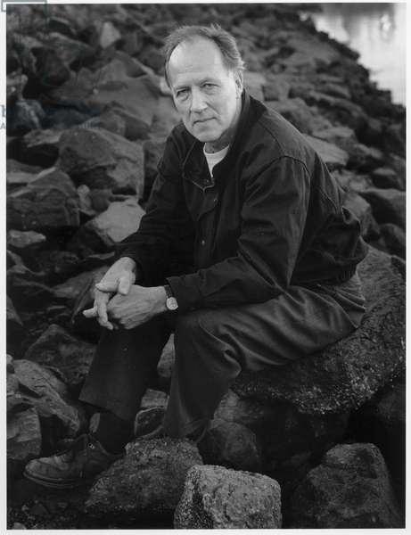 Werner Herzog, San Francisco, 2000 (b/w photo)