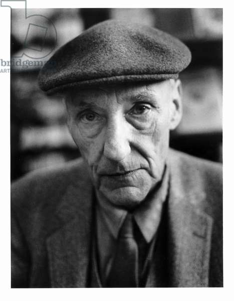 William S. Burroughs, San Francisco, 1982 (b/w photo)