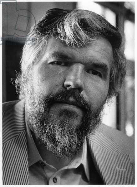 Stan Brakhage, Boulder, Colorado, 1981 (b/w photo)